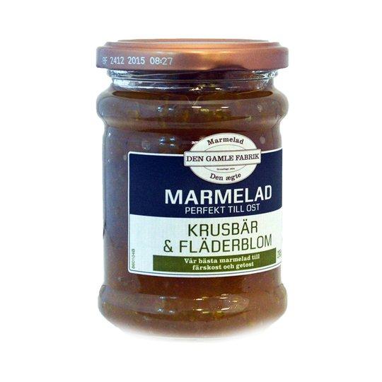 Marmelad Krusbär & Fläder 295g - 37% rabatt