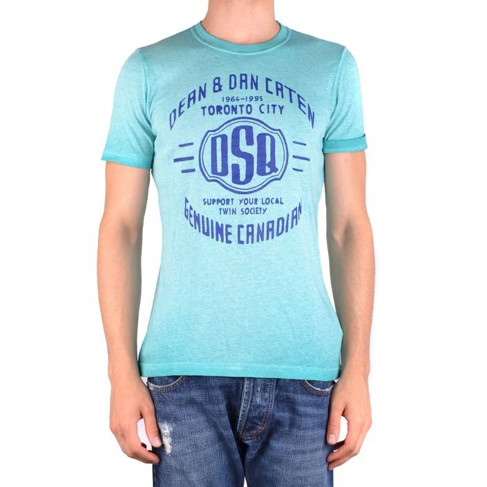Dsquared Men's T-Shirt Blue 161463 - blue XS
