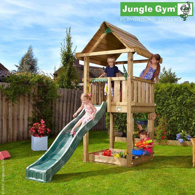 Jungle Gym House Lektorn Komplett Exkl. Rutschkana