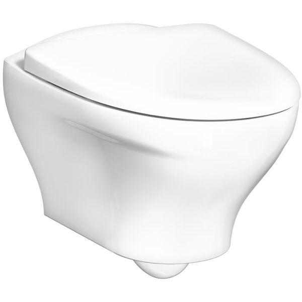 Gustavsberg Estetic 8330 Toalettstol hvit