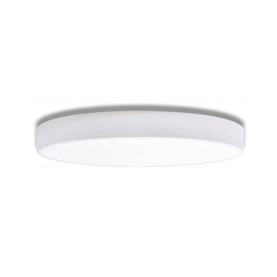 Cleo taklampe i hvitt med spreder, Ø 78cm