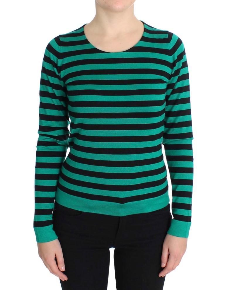 Dolce & Gabbana Women's Silk Cashmere Sweater Green SIG20572 - IT42|M