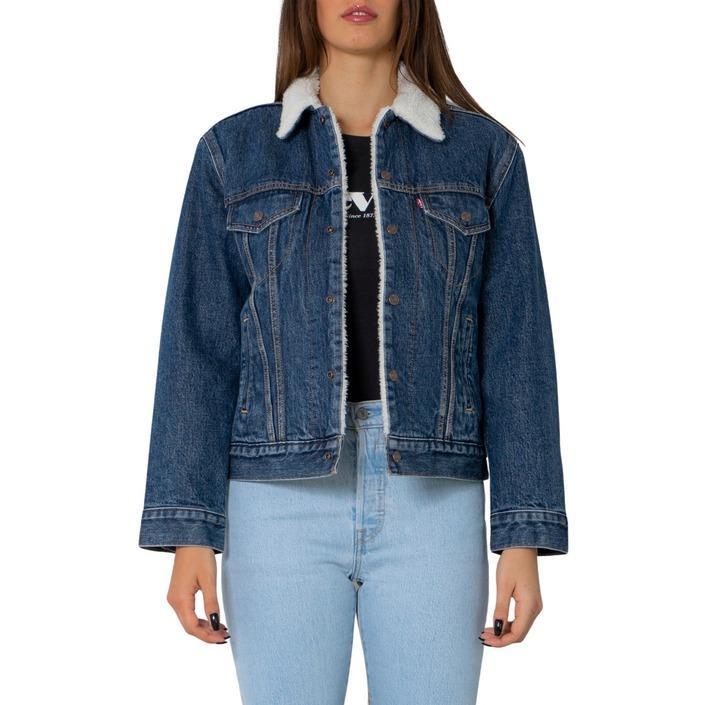 Levi`s Women's Jacket Blue 270529 - blue XS