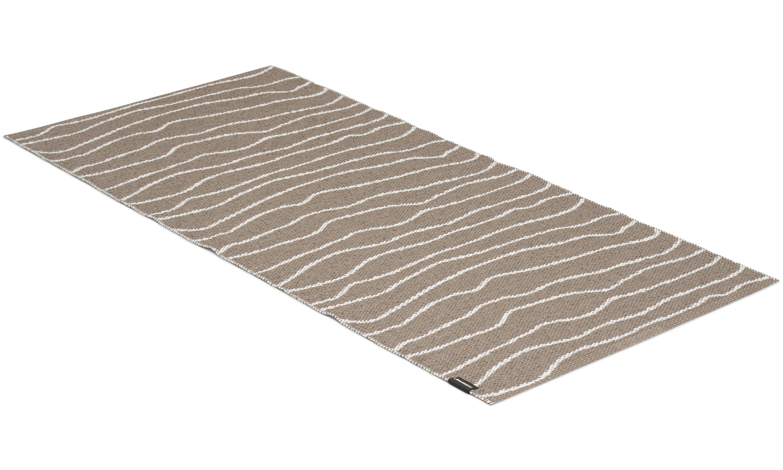 Line brun - plastteppe