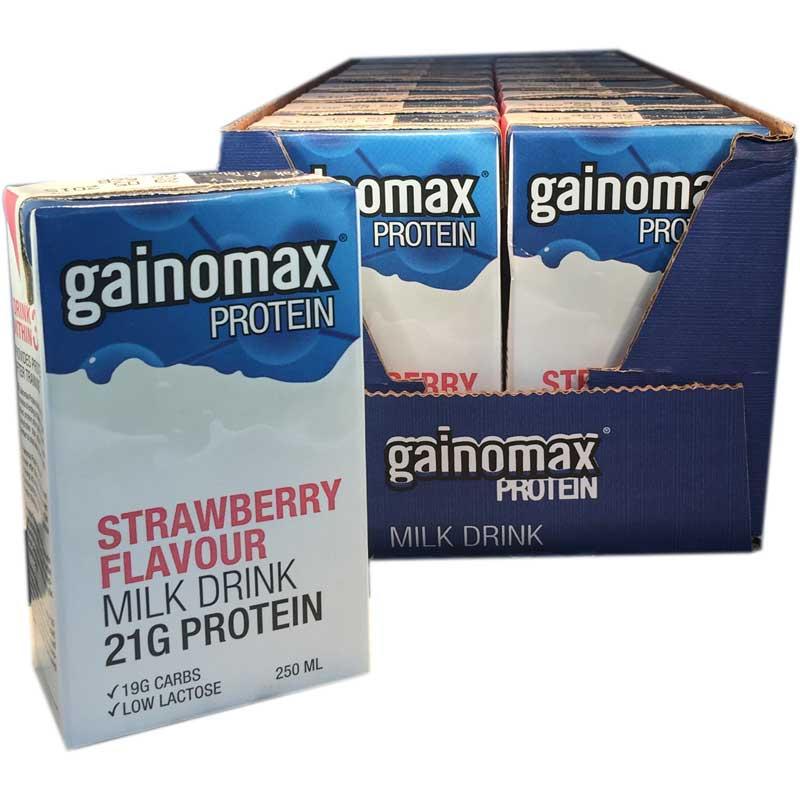18-Pack Proteindrink jordgubb - 83% rabatt
