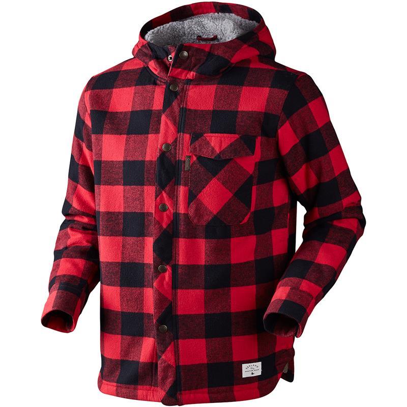 Seeland Canada jakke Lumber Check S Varm klassisk Canada jakke