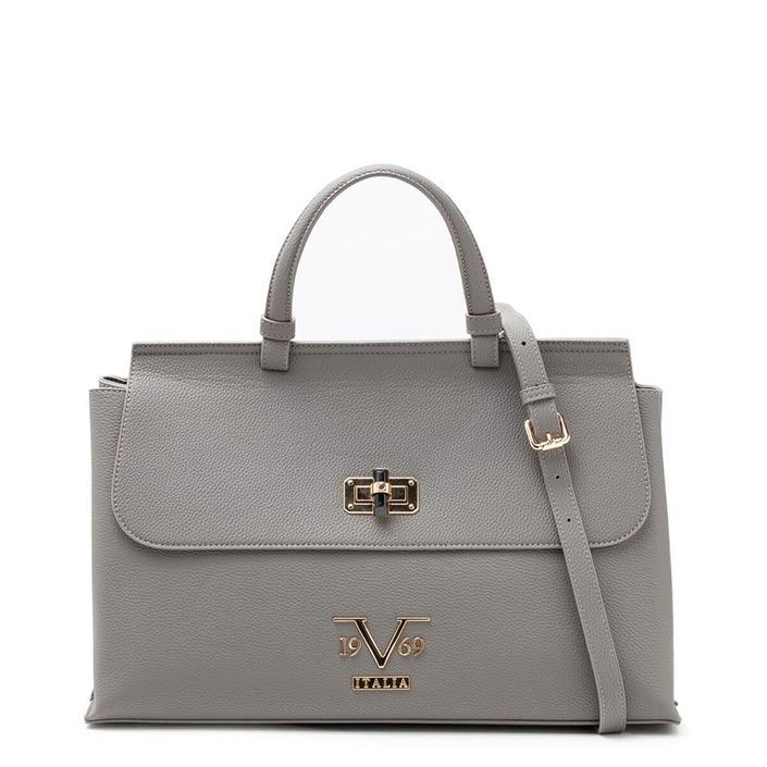 19v69 Italia Women's Handbag Various Colours 318989 - grey UNICA