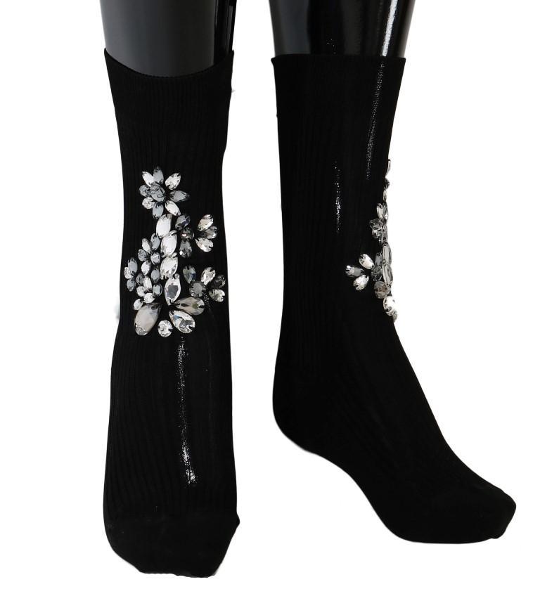 Dolce & Gabbana Women's Socks Black SCS50 - M
