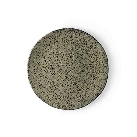 Gradient Ceramics Assiett Green 2 st