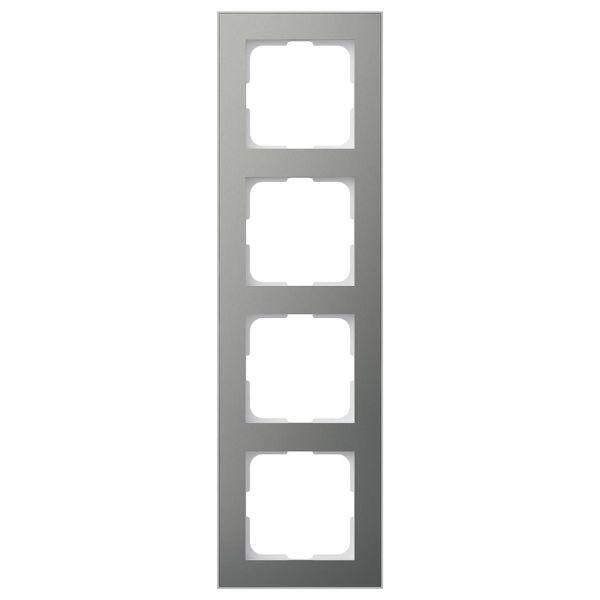 Elko EKO06164 Kombinasjonsramme blåmetall/aluminium 4 rom