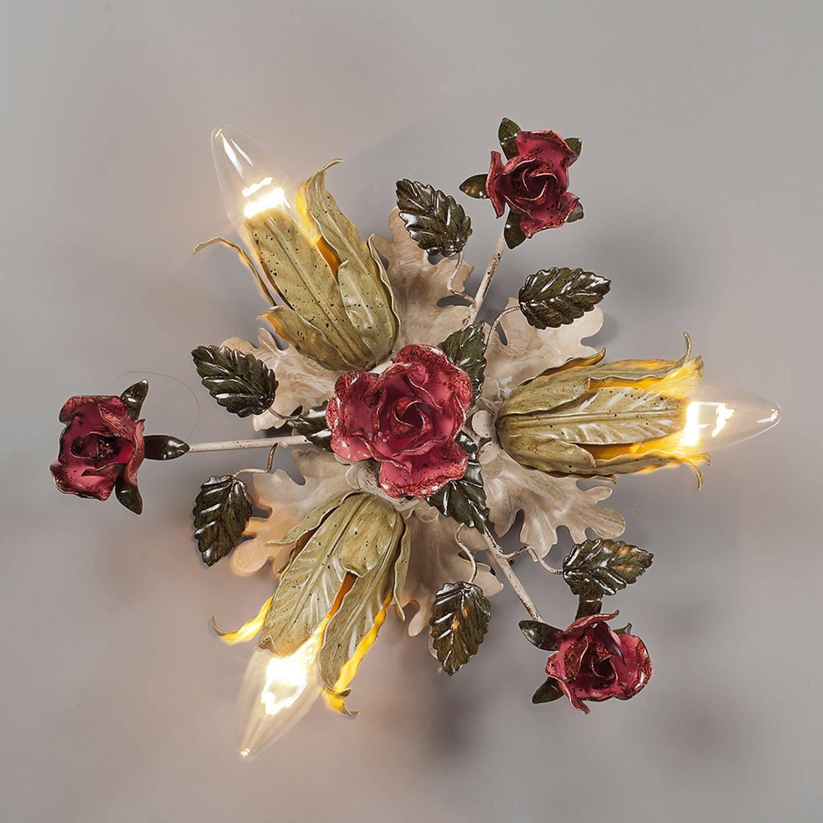Florentiner-taklampe Fiama, tre lys