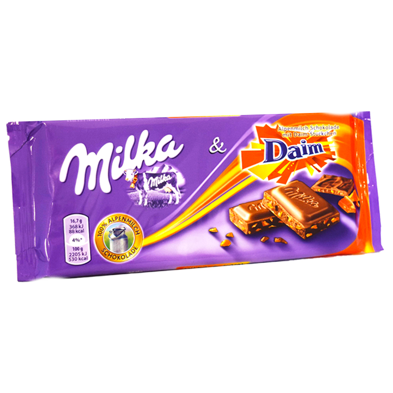 Maitosuklaa Daim 100 g - 40% alennus