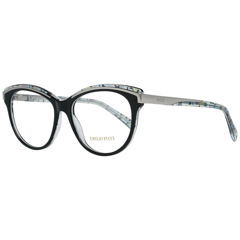 Emilio Pucci Women's Optical Frames Eyewear Black EP5038 53001