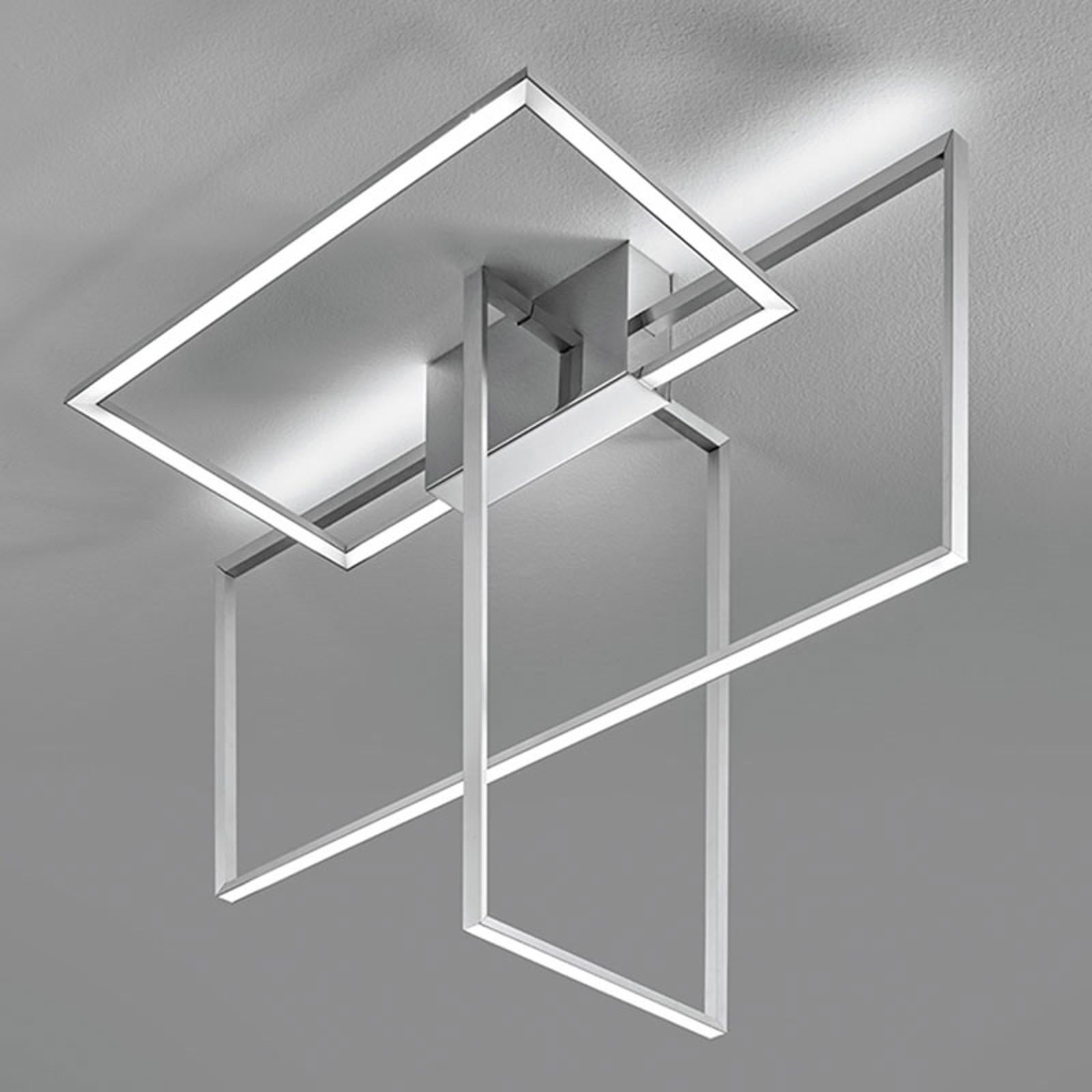 Area - alumiininvärinen LED-kattovalaisin