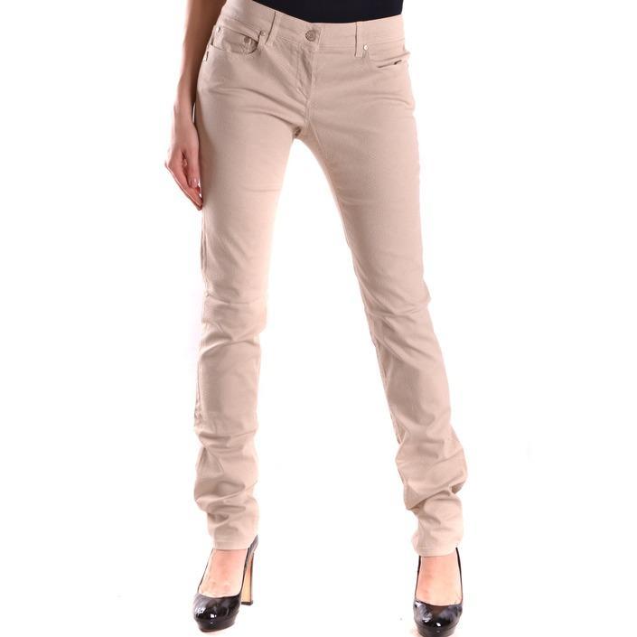 Daniele Alessandrini Women's Trouser Beige 168909 - beige 32
