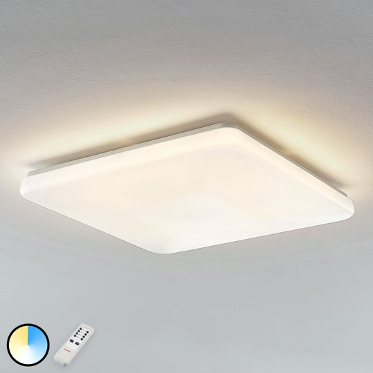 LED-kattovalaisin Indika värin vaihto CCT kulmikas
