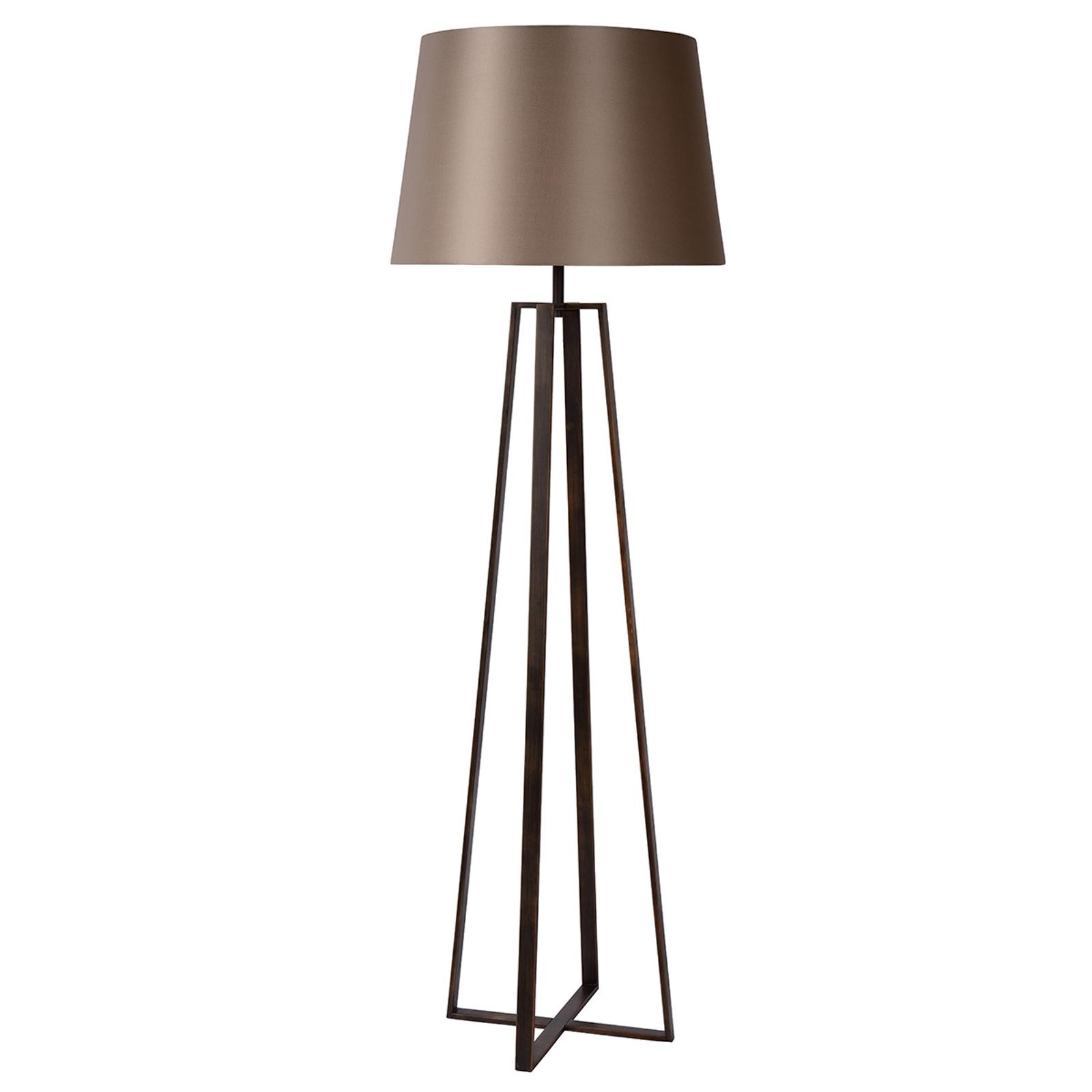 Lattiavalaisin Coffee Lamp kangasvarjostimella