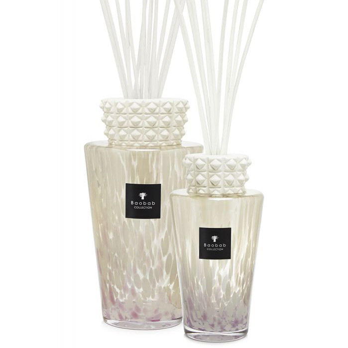Baobab I Totem Luxury Bottle Diffuser White Pearls Medium 2 Litre
