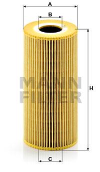 Öljynsuodatin MANN-FILTER HU 951 x