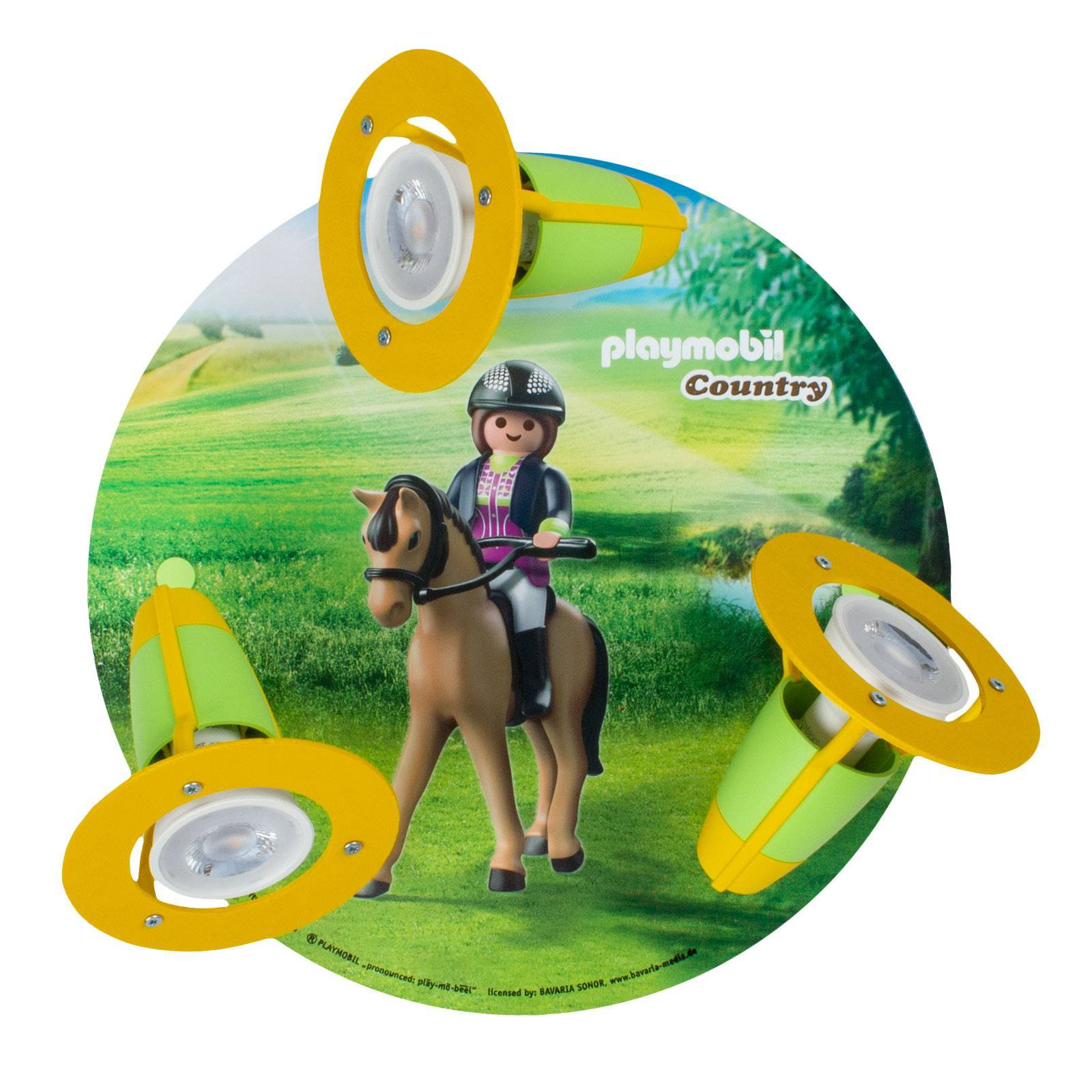 Taklampe 3 spotter PLAYMOBIL Country