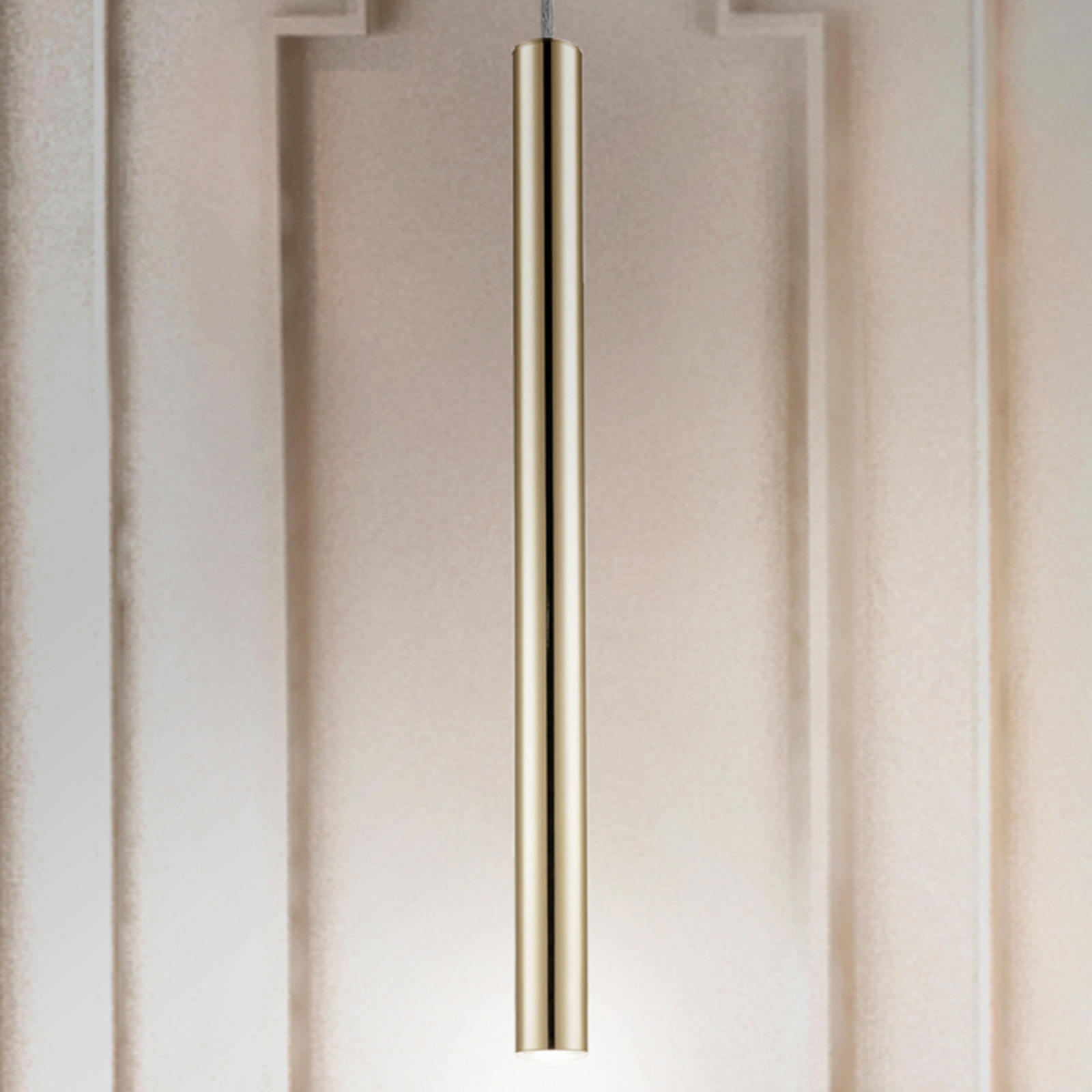 LED-riippuvalaisin, yksilamppuinen, kulta