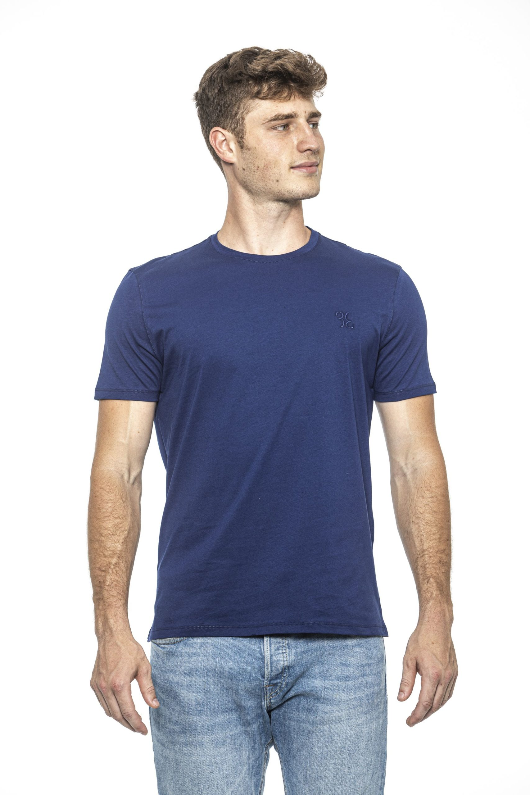 Billionaire Italian Couture Men's T-Shirt Blue BI1397988 - S