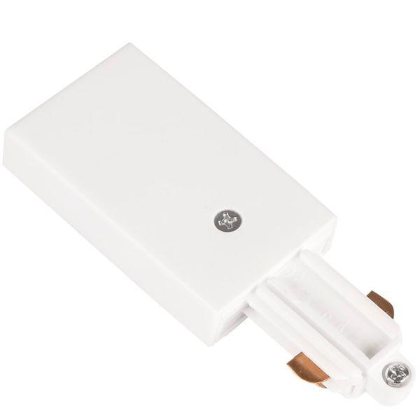 Hide-a-Lite LiteTrac Tilkobling 1-faset, hvit Venstre
