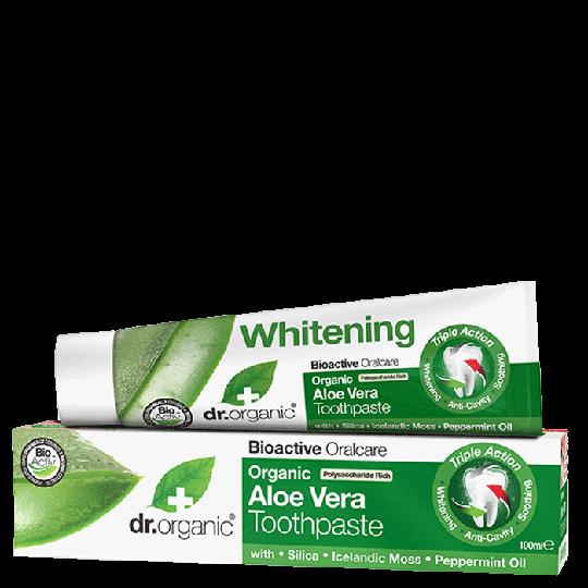 Aloe Vera Toothpaste, 100 ml