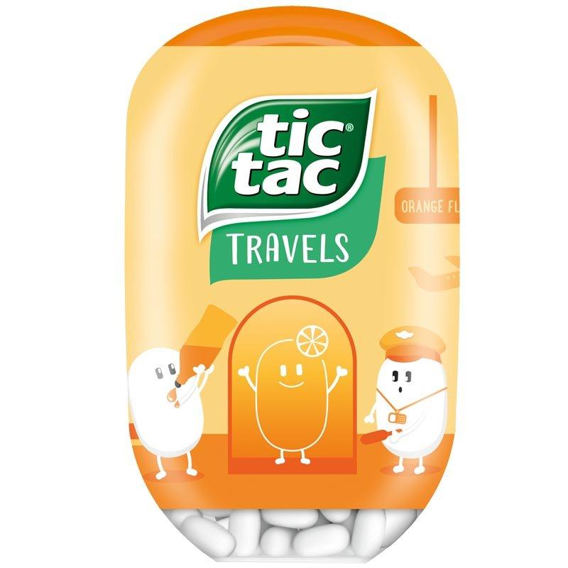 Tic Tac Apelsin Travel Pack - 37% rabatt