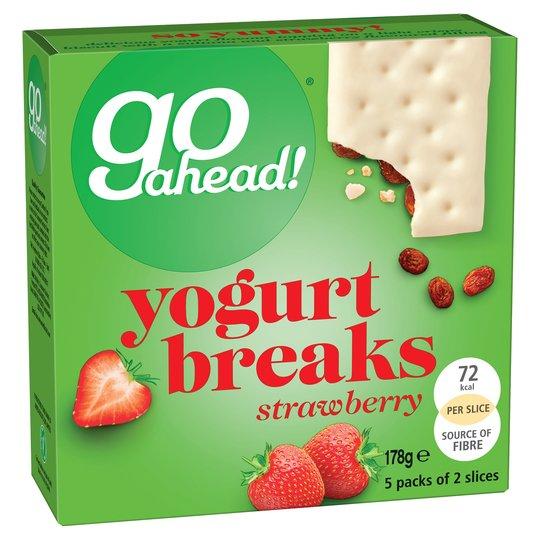 Go Ahead Yogurt Breaks Strawberry 178g