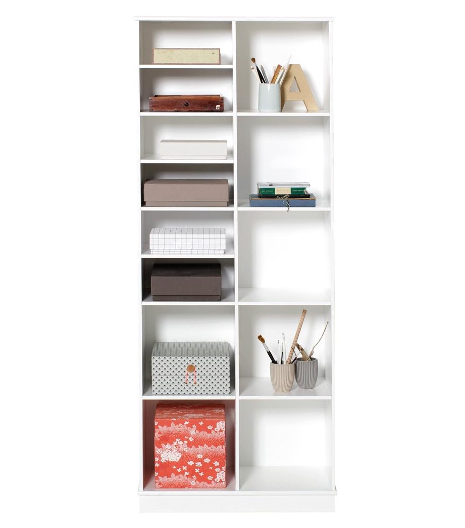 Wood bokhylla 2 x 5 med sockel, Oliver Furniture