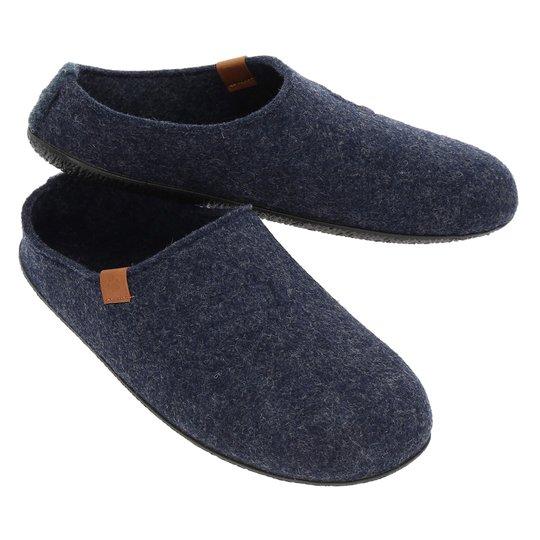 Wildstep Wool ulltofflor med gummisula