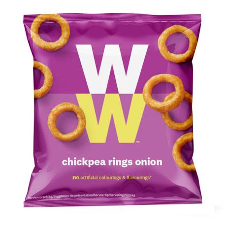"Snacks ""Chickpea Rings Onion"" 20g - 33% rabatt"