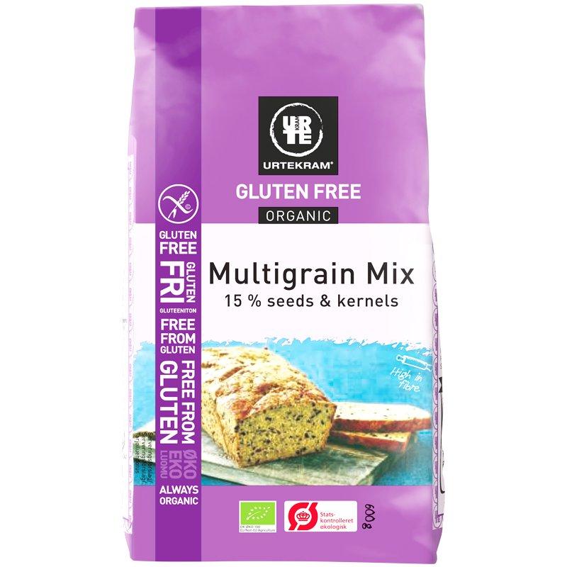 """Luomu Leivontasekoitus """"Multigrain Mix"""" 600g - 40% alennus"""