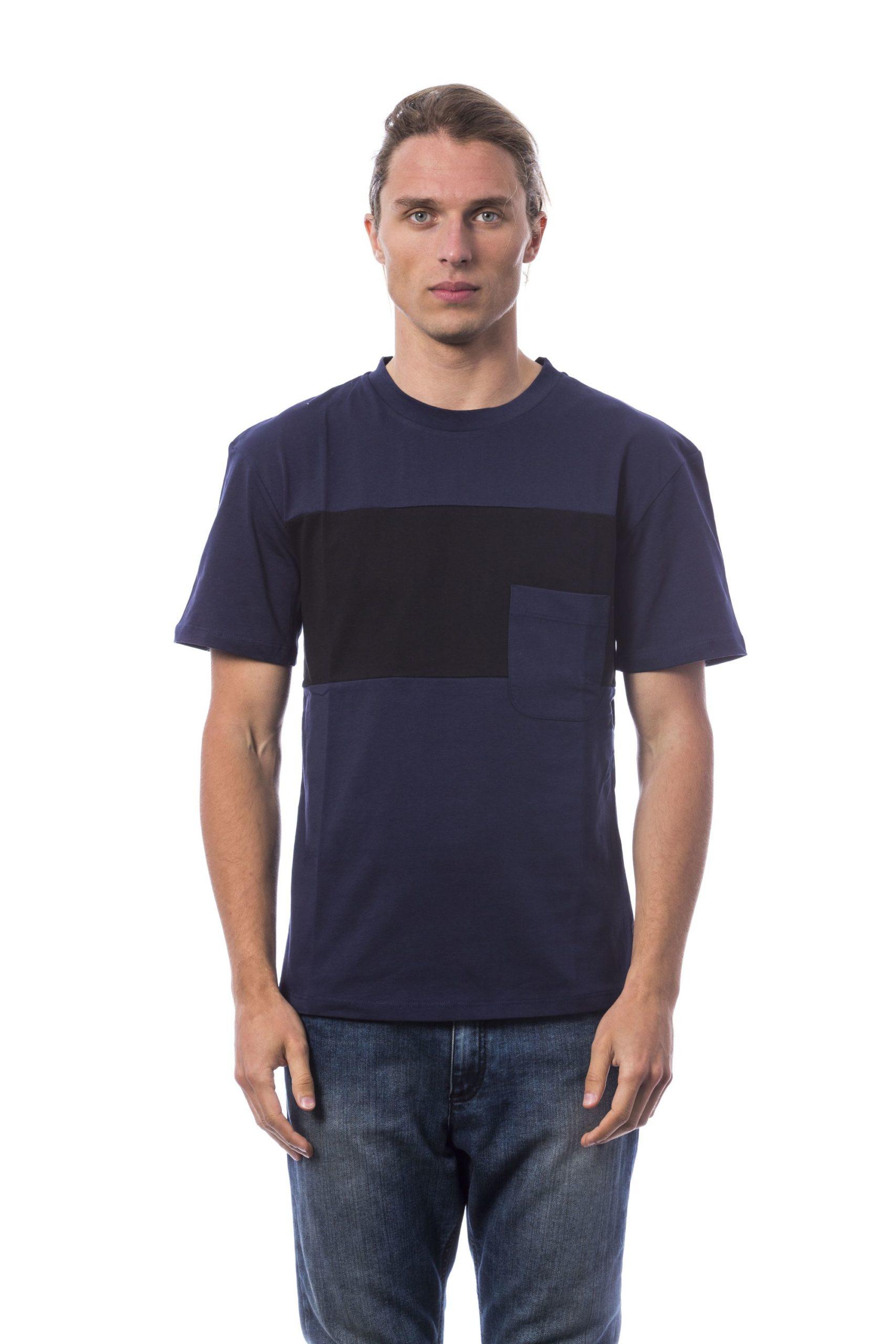 Verri Men's Blu Navy T-Shirt Blue VE678497 - S
