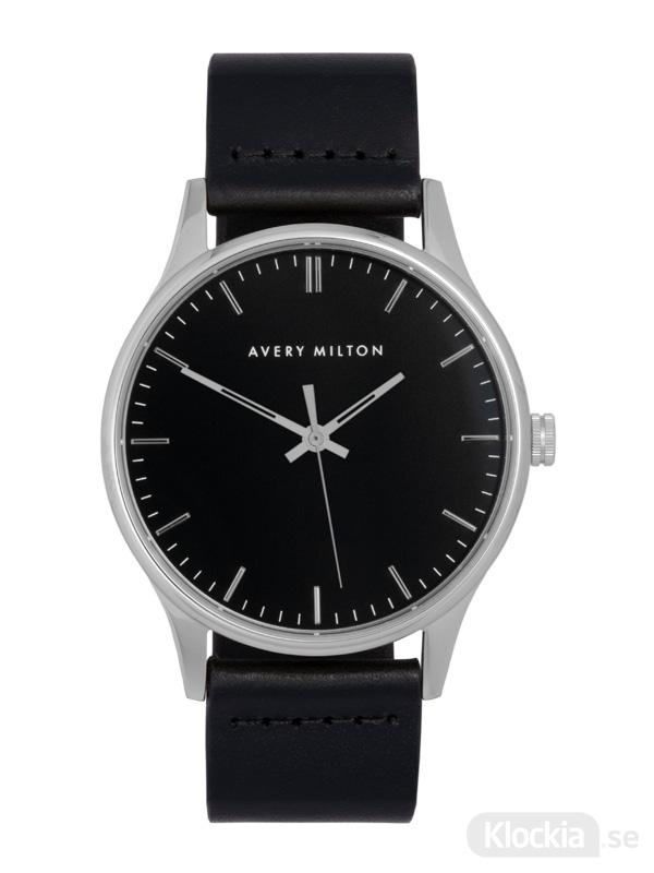 Avery Milton Como Black Silver/Black 1194401220 Unisexklocka