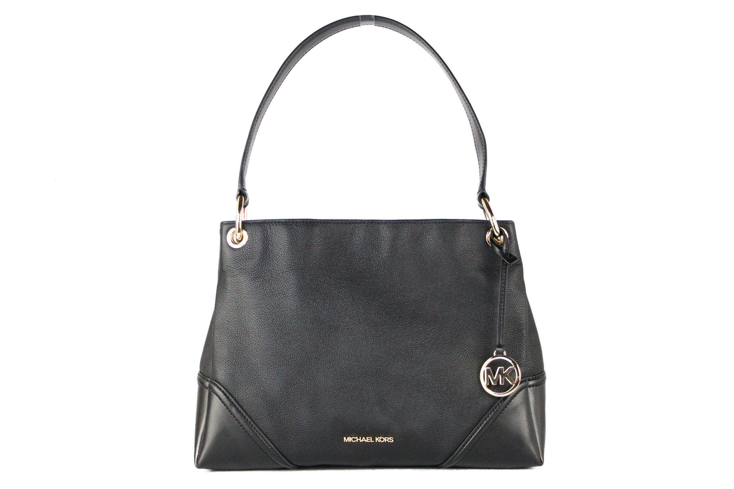 Michael Kors Women's Nicole Shoulder Bag Black 704874