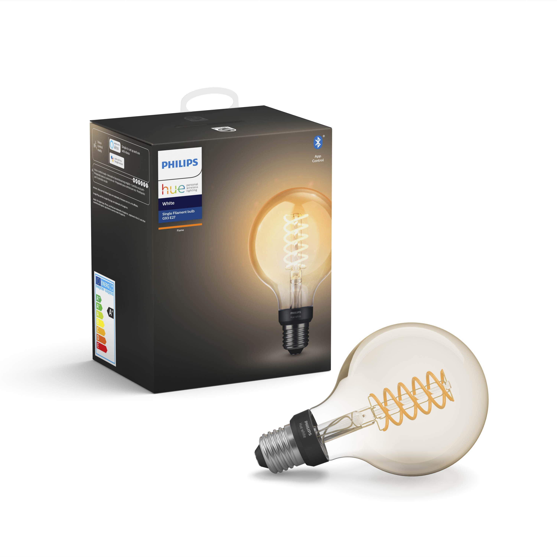 Philips Hue - E27 Filament G93 - Warm White - Bluetooth