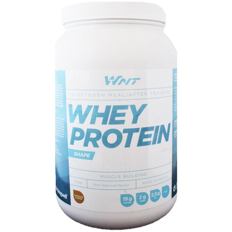 """Proteiinijauhe """"Whey Protein"""" Suklaa 1kg - 29% alennus"""
