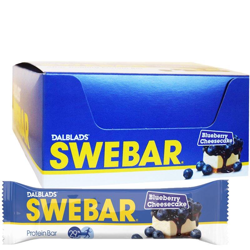 """Laatikollinen """"Blueberry Cheesecake"""" 20 x 55g - 36% alennus"""