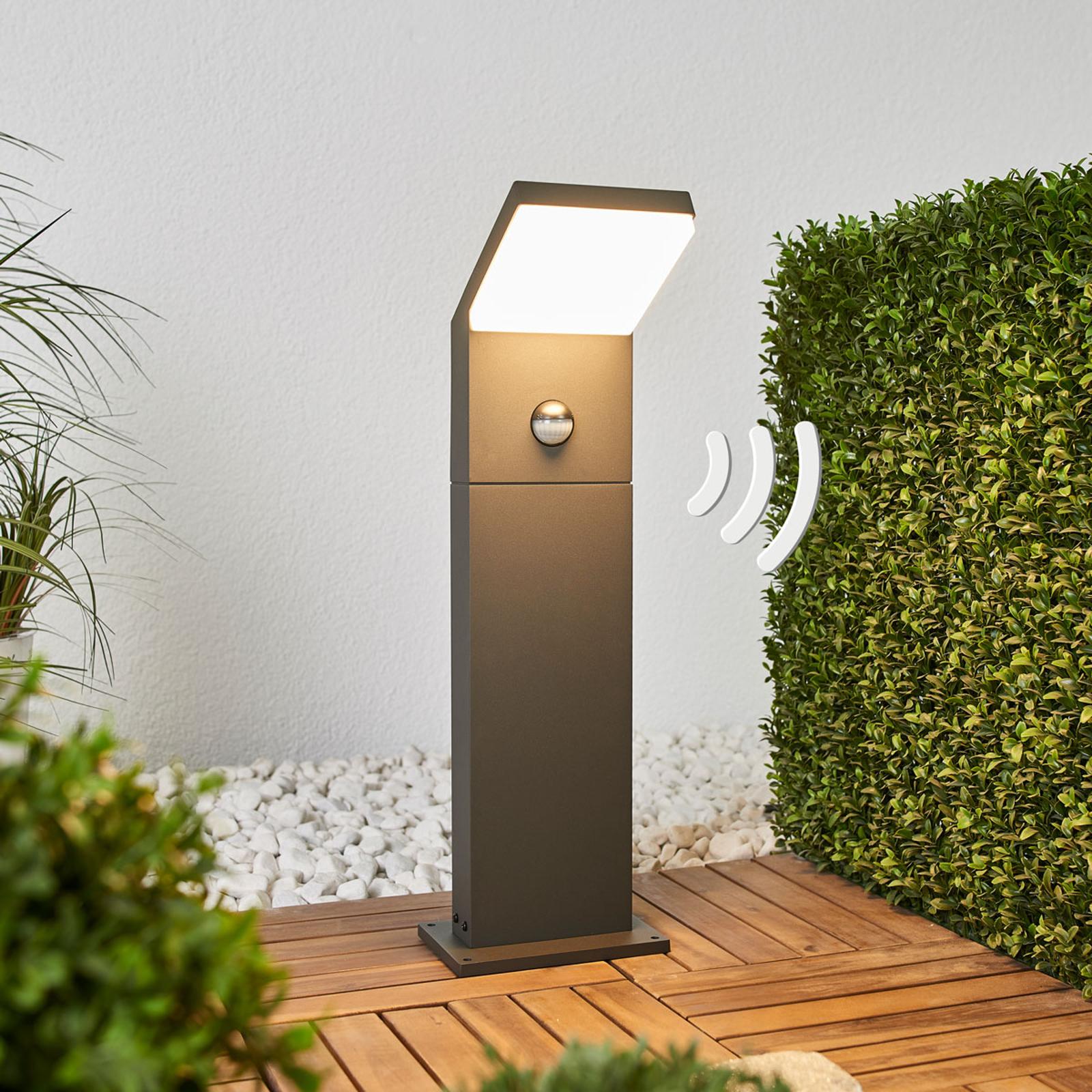 LED-pylväsvalaisin Yolena sensorilla, 60 cm