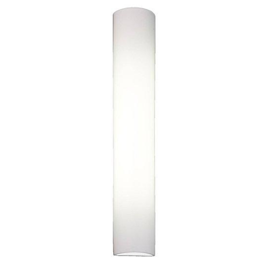 BANKAMP Cromo LED-vegglampe av glass, høyde 54cm
