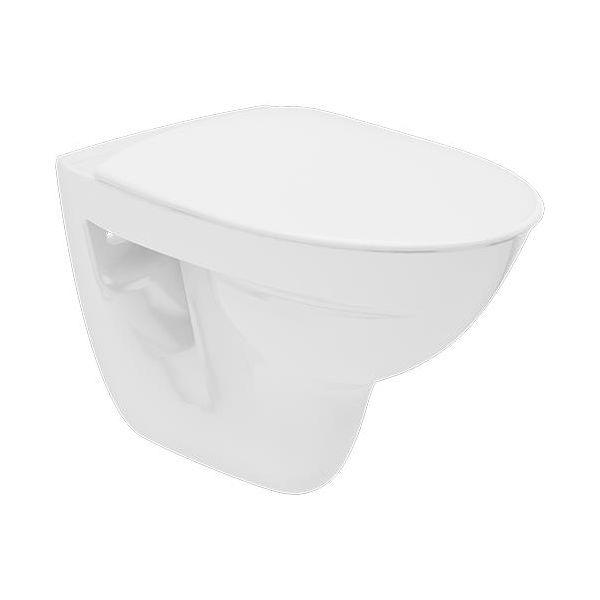 Ifö Spira Rimfree 627508809 WC-skål vegghengt, med mykt sete