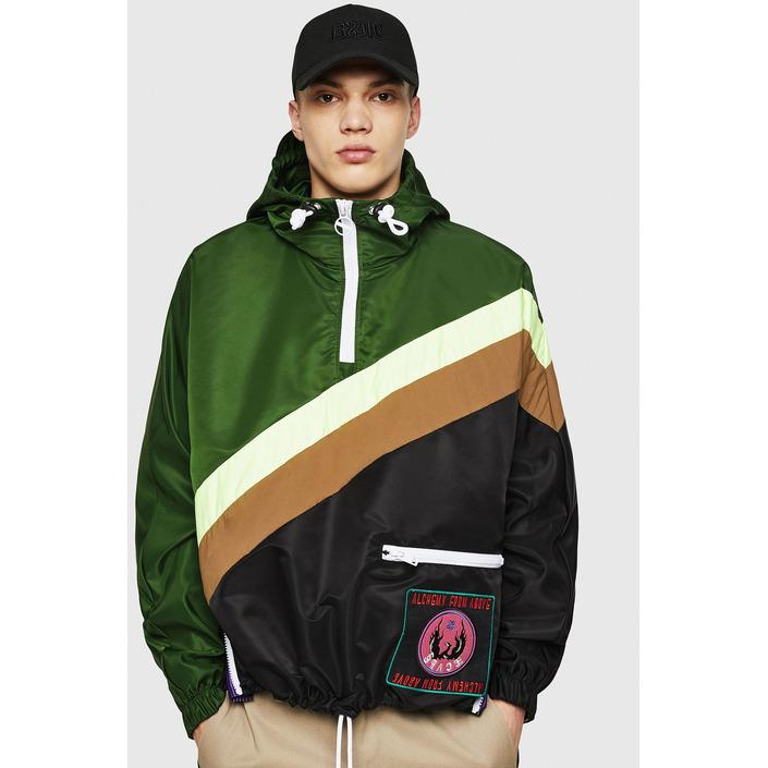 Diesel Men's Sweatshirt Green 298746 - green L