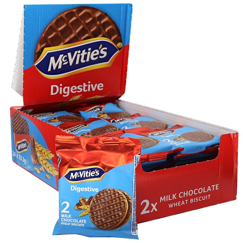 Digestivekex Mjölkchoklad ToGo 24-pack - 52% rabatt