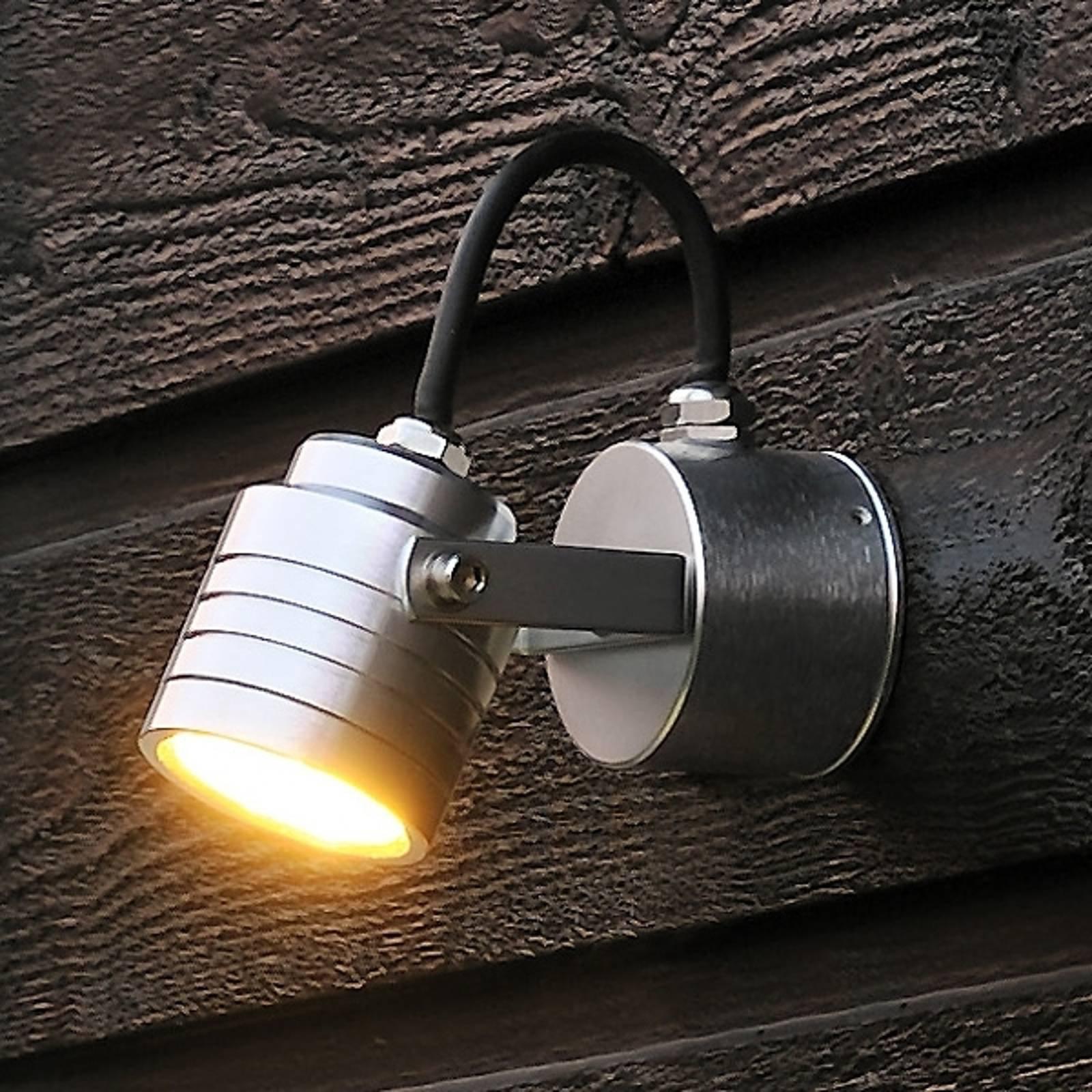 Raffinert utendørs Monza LED-vegglampe 7903