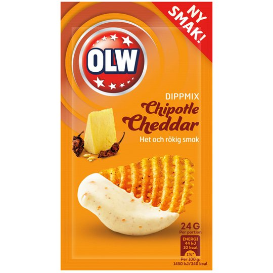 Dippmix Chipotle Cheddar - 37% rabatt