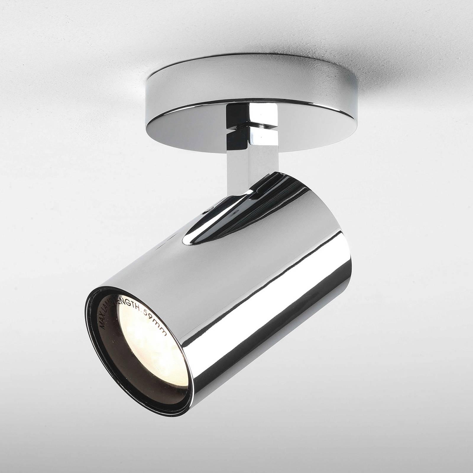 Astro Aqua Single LED-kattovalaisin, kromi