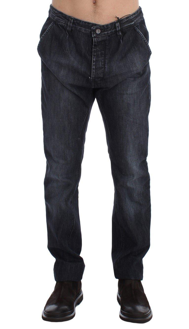Costume National Men's Wash Regular Fit Cotton Jeans Blue SIG17963 - W34