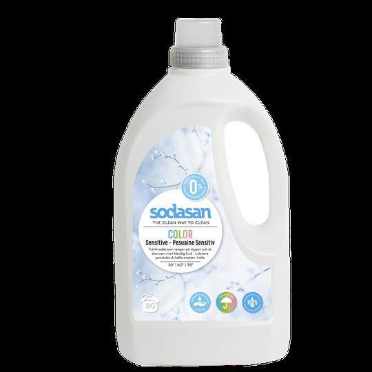 Sodasan Tvättmedel Sensitive, 1,5 L